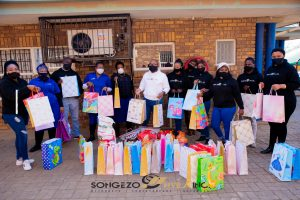 Songezo Nyila Inc At Tembisa Welfare For Mandela Day 2020.