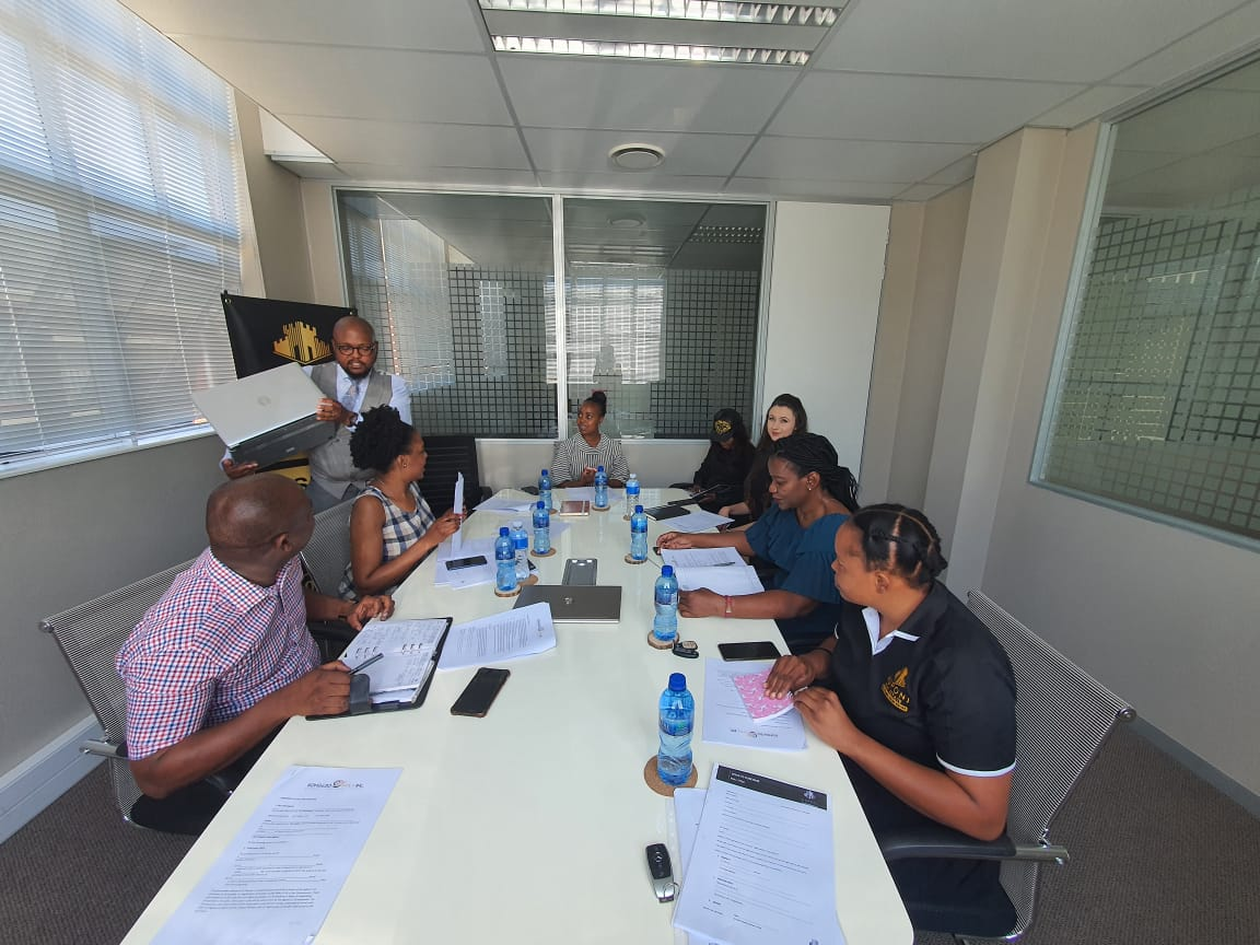 Legal Training At One Of Our Client's Muponi Real Estate.