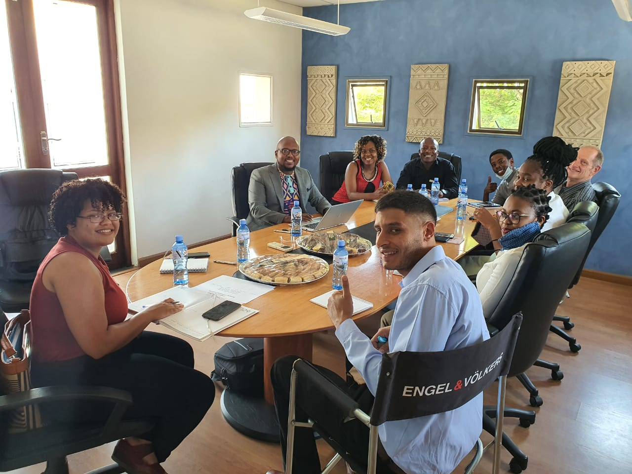 "Legal training At Engel Volkers Midrand on ""Understanding Residential Leases In South Africa🇿🇦. #TeamSongz working hard"